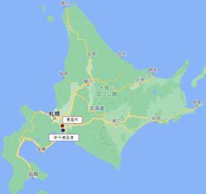 恵庭市マップ